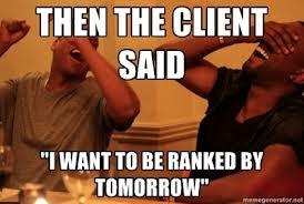 SEO rankings now